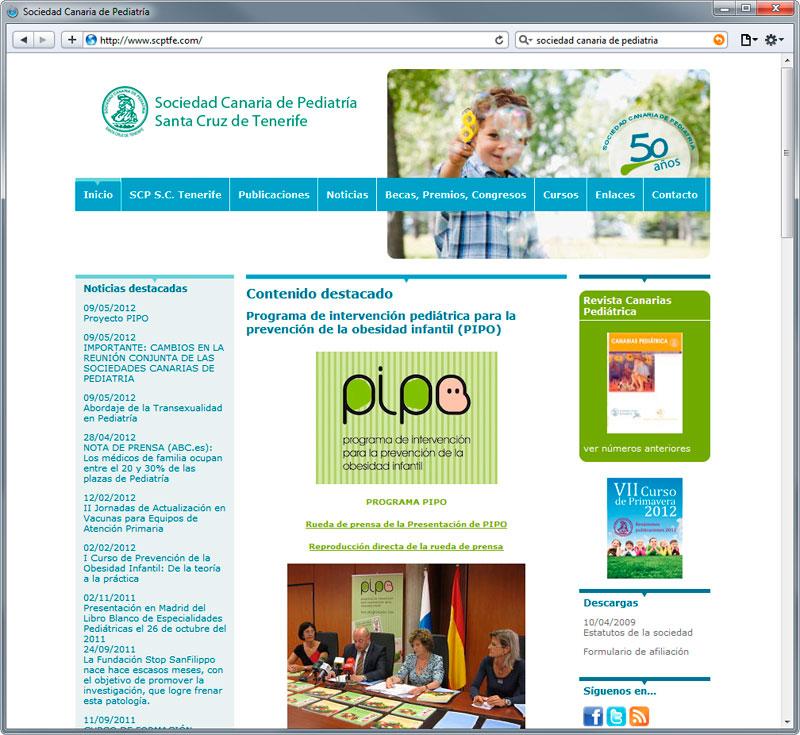 Sociedad Canaria de Pediatría de S/C Tenerife