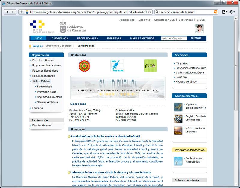Dirección General de Salud Pública